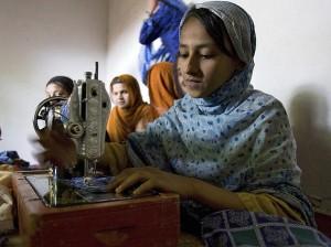 Weesmeisjes in Kabul
